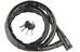 Masterlock 8218 PanzR - Candado de cable - 22 mm x 2.000 mm negro